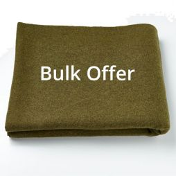 Ten Pack - Pure Wool Personal Protection Blanket