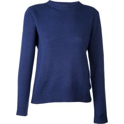 Lambswool Classic Pullover French Navy