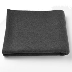 Black Personal Protection Wool Blanket - Child