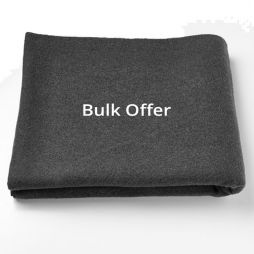 Two Pack BLACK Personal Protection Wool Blanket