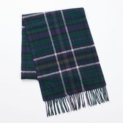 Wool Cashmere Scarf - Green