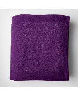 Brisbane Wool Blanket - Purple