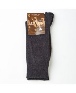 Alpaca Dress Socks Black