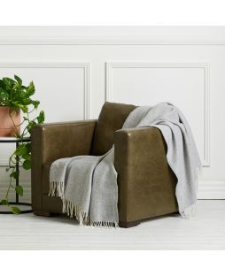 Alpaca Luxury Throw Mosaic Grey