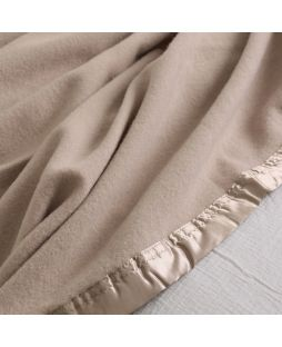 Essential Merino Wool Blanket Camel