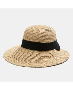 C5101|ST TROPEZ SUMMER HAT- NATURAL