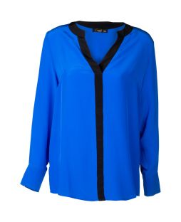 Silk Milan Blouse Ultraviolet