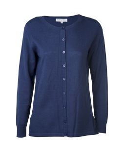 Wool Brilliant Cardi Navy