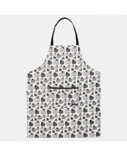 APRON SHEEP PRINT STAND