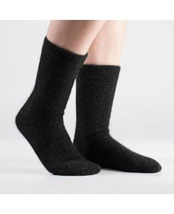 Possum Fine Socks - Black