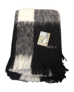 Alpaca Brushed Throw Friesian