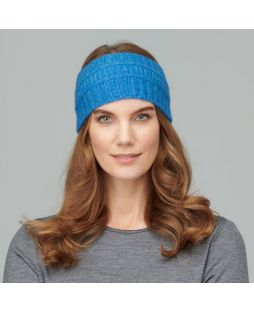 Possum Ribbed Headband Provence Blue