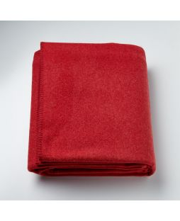 Brisbane Wool Blanket Red
