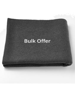 Ten Pack BLACK Personal Protection Wool Blanket
