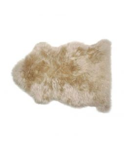 Auskin Long Wool Sheepskin Wheat