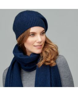Possum Cowra Slouch Beanie Military Navy