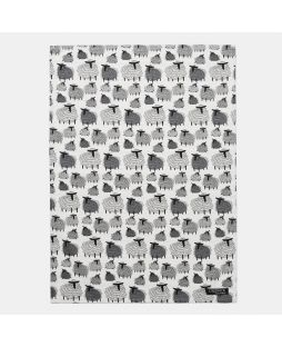 TEA TOWEL SHEEP PRINT STAND