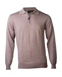 Ansett Merino Wool 1/2 Zip - Mouse