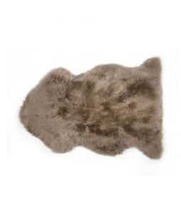 Auskin Long Wool Sheepskin Taupe