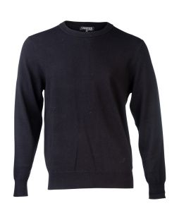 Essential Crew Neck - Black
