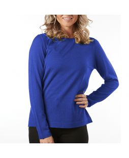 Merino Wool Essential Pullover - Royal Blue