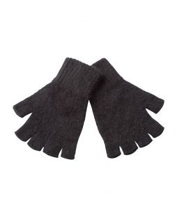 Possum Essential Fingerless Gloves Black