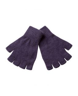 Possum Essential Fingerless Gloves Sumac