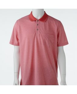 Ansett Blue Horizon Solid Polo - Coral