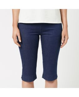 Cotton Light Weight Denim Capri Pant