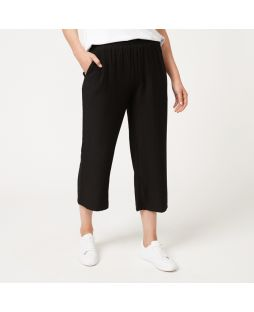 Cotton Culottes - Black
