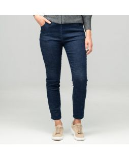 Regular Length Slim Leg Denim Pant - Indigo