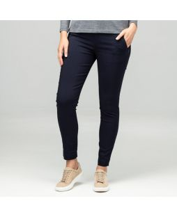 Slim Stretch 7/8 Pant - Navy