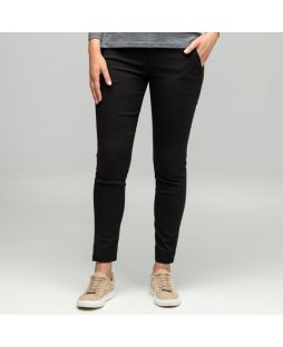 Slim Stretch 7/8 Pant Black