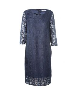 Elizabeth Lace Dress Midnight