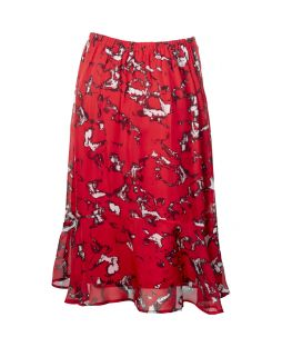 Ascott Skirt Red