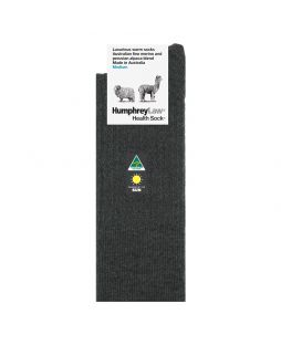 Alpaca Wool Blend Socks Charcoal