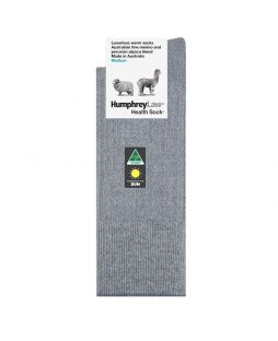 Alpaca Wool Blend Socks Light Grey