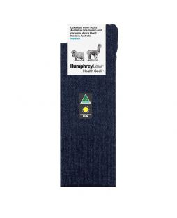 Alpaca Wool Blend Socks Navy
