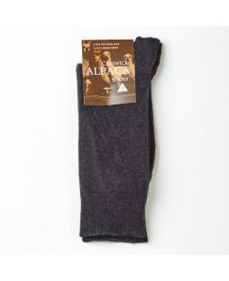 Alpaca Dress Socks - 6 Pack - Size 6-10 - Black