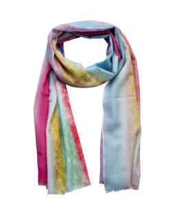 Printed Scarf Rainbow Multi