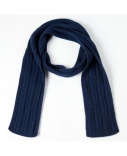 Possum Cable Scarf Military