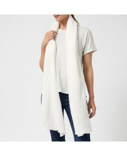 LINEN SHAWL White