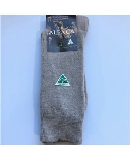 Alpaca Dress Socks Antelope