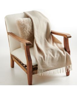 Alpaca Throw Rug Combo Camel