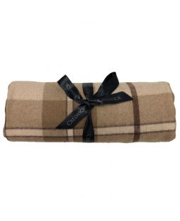 Billabong Offcut Throw Small Fawn Check