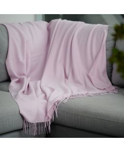Fine Alpaca Throw - Pink