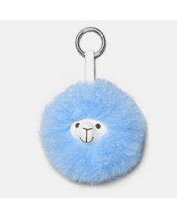 MIKE THE ALPACA KEY RING Baby Blue