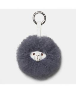 MIKE THE ALPACA KEY RING Grey