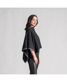 Possum Two-Tone Poncho Duke / Slate