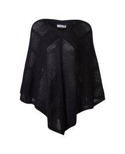 Possum Sydney Poncho Black